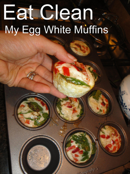 Quick Breakfast Recipe: Egg White Muffins!